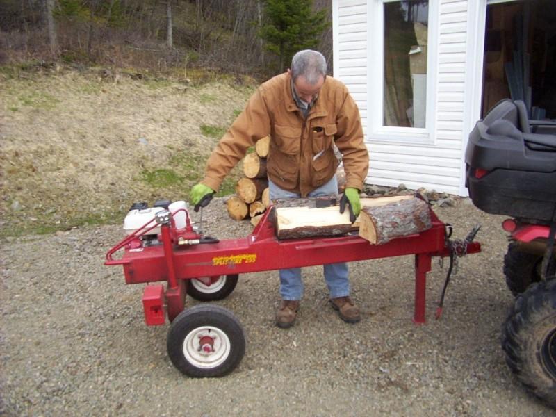 SplitFire 255 wood splitter