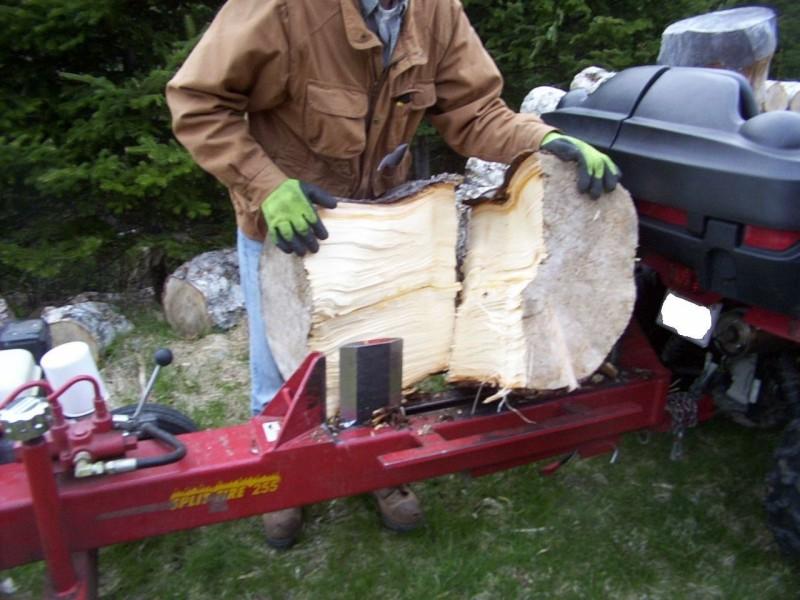 Fire wood splitter