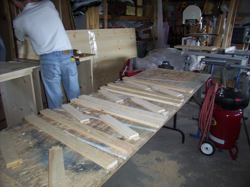 Plenty of parts to frame and panel doors.