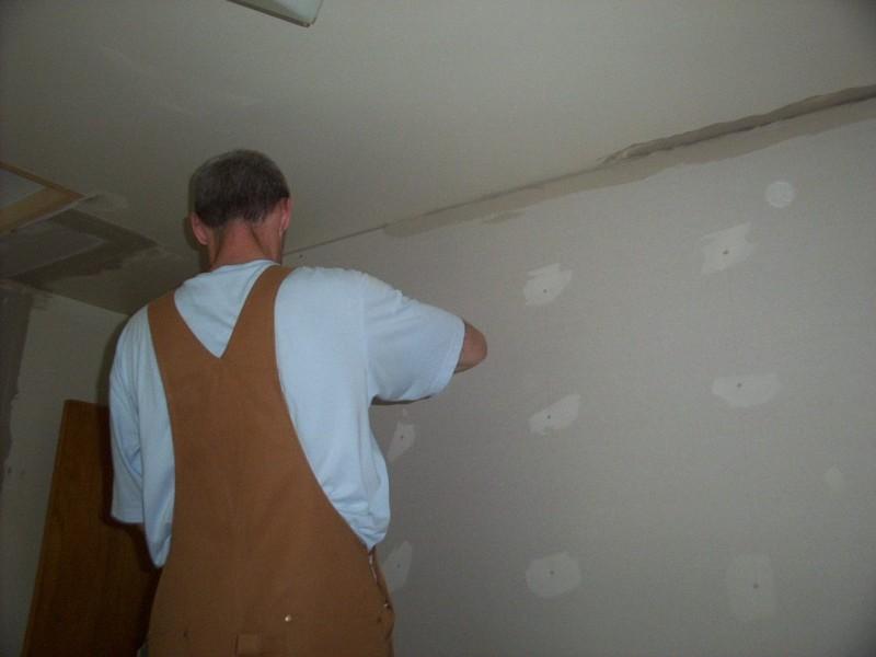 Plaster time.