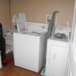 Washer and dryer move