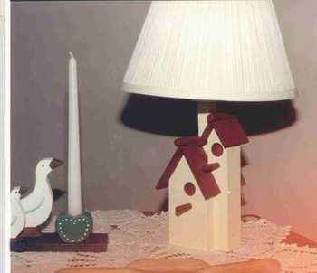 Lamp base woodworking projects