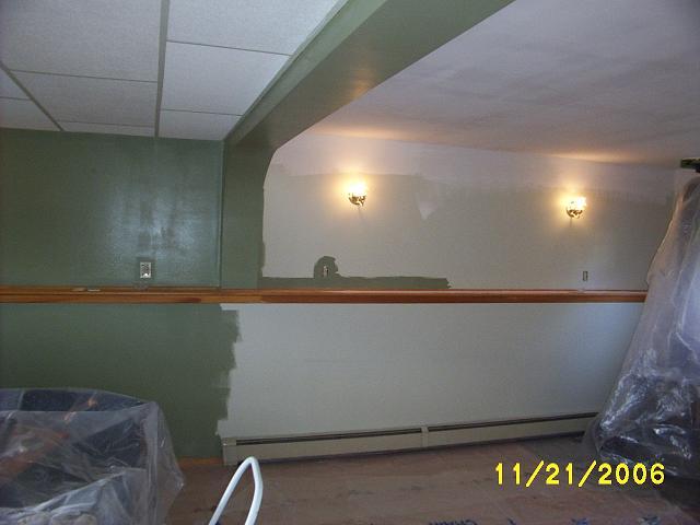 Rec room renovation