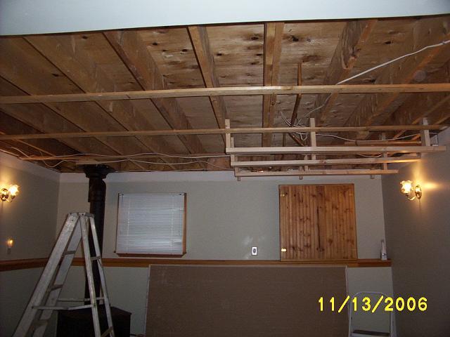 DIY drywall construction