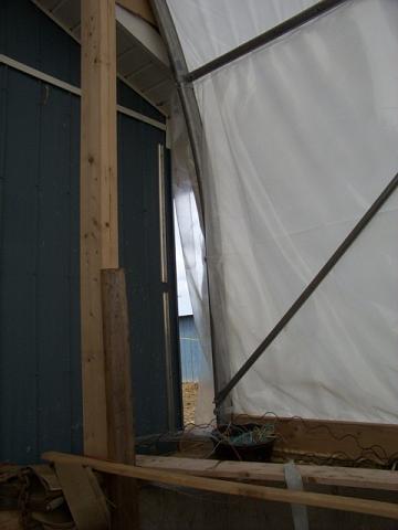 Sheep barn renovation