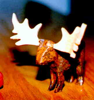 3D Moose carving