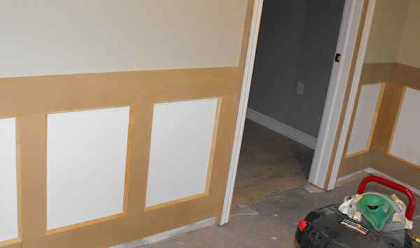 Home remodeling carpentry.