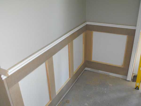 Wainscoting In The Basement Part 6 Woodchuckcanuck Com