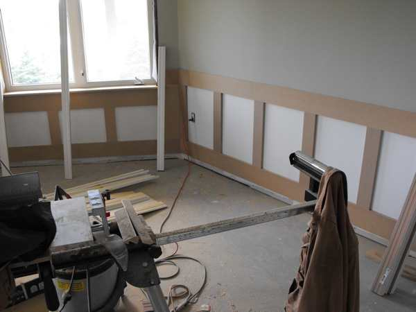 Woodworking and wainscot porjects