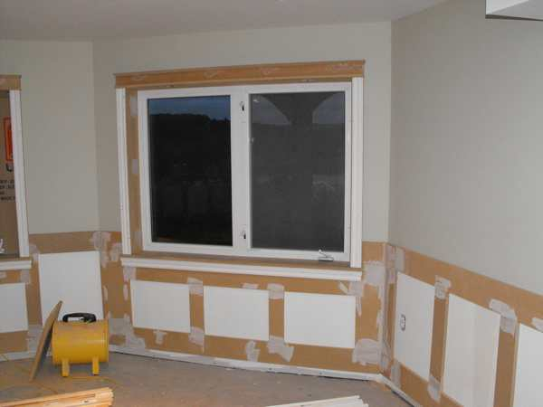 Wainscoting In The Basement Part 12 Woodchuckcanuck Com