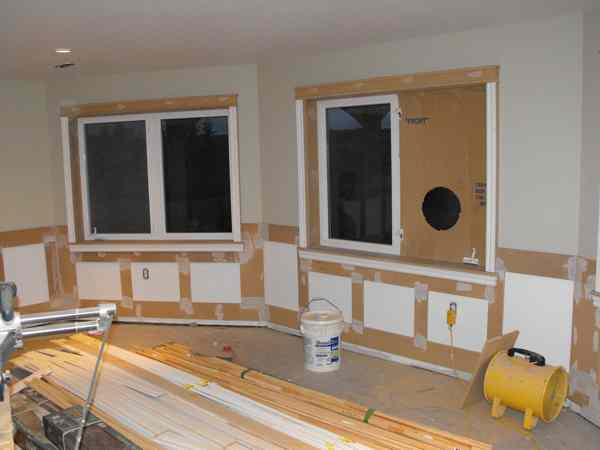 Woodworking and wainscoting