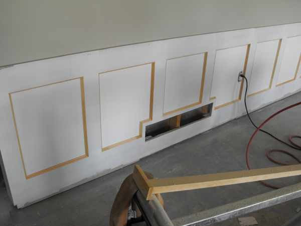 Wainscoting In The Basement Part 15 Woodchuckcanuck Com