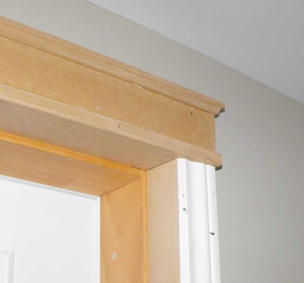 Woodworking with wainscot trim.