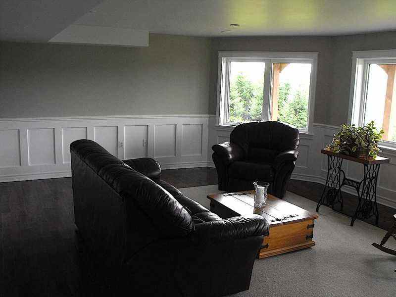 Wainscot remodeling.