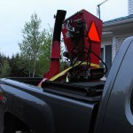 Wallenstein BX42R Wood Chipper 3