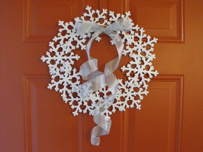 Snowflake Wreath On The Scroll Saw Woodchuckcanuck Com