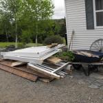Deck waste