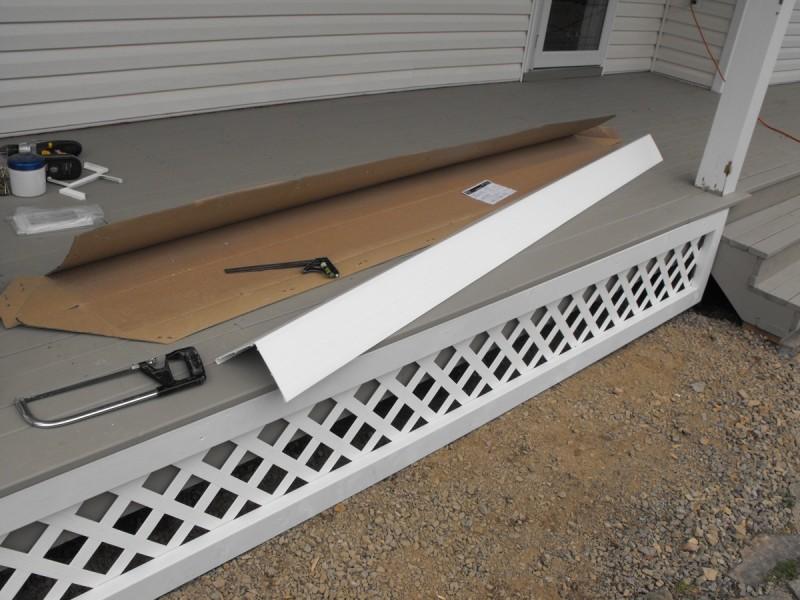 Deck post vinyl kit.
