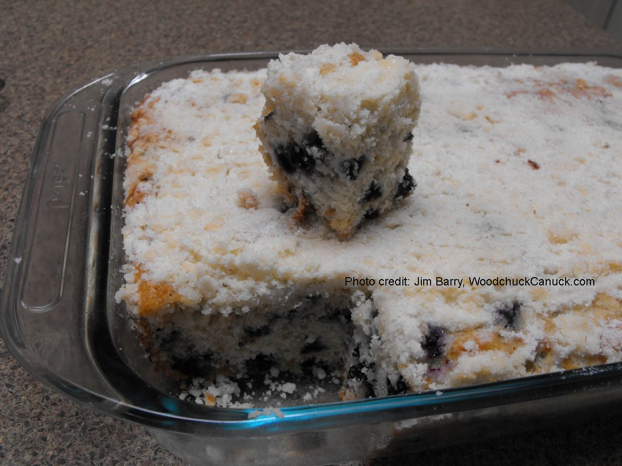 Blueberry Buttermilk Coffee Cake – WoodchuckCanuck.com