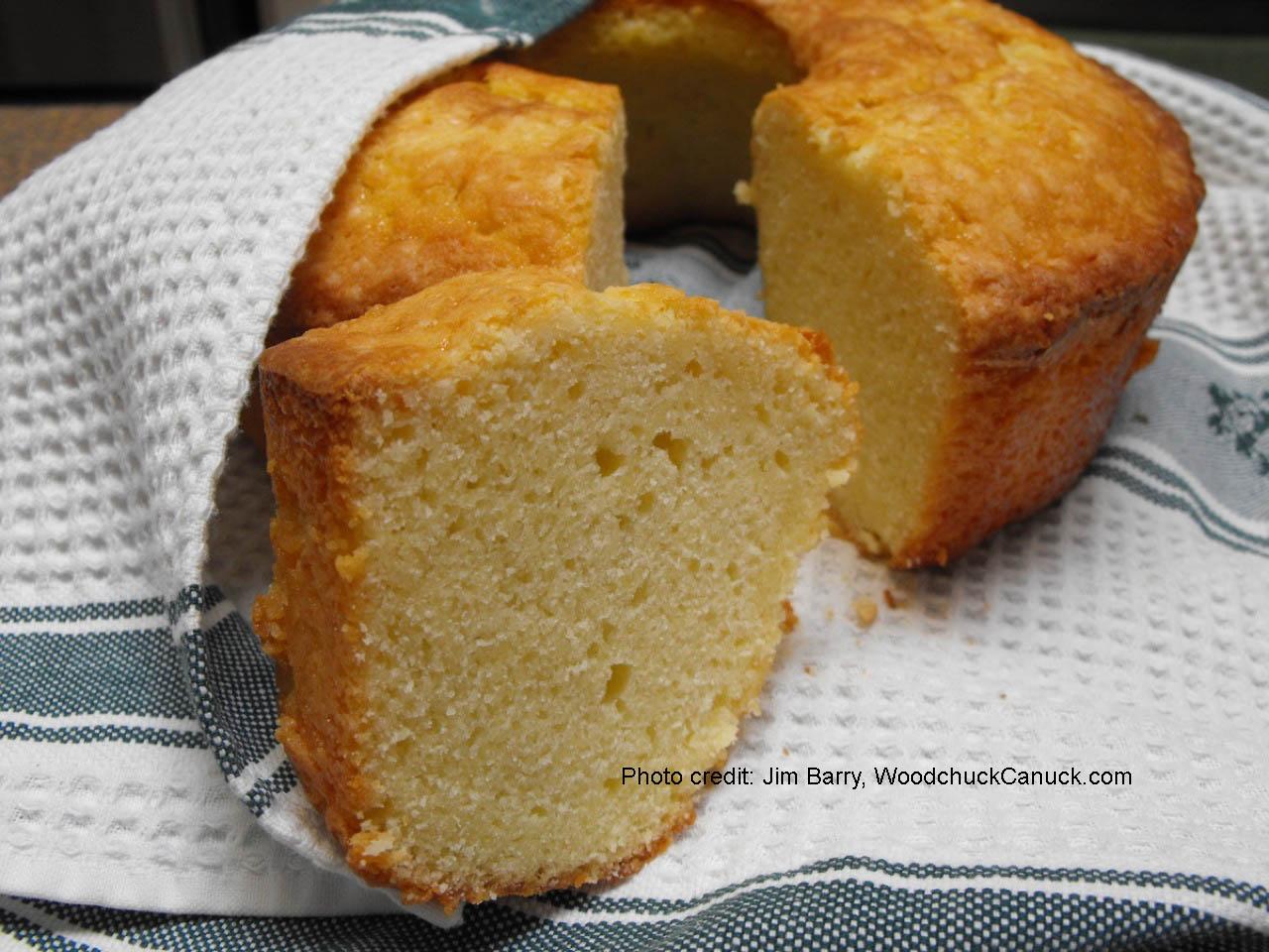Buttermilk Pound Cake | WoodchuckCanuck.com