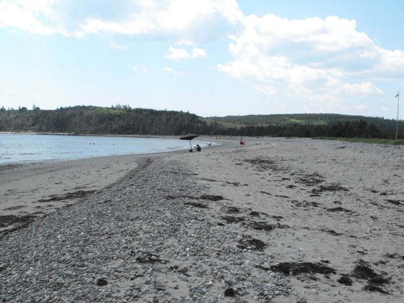 Port Hilford beach, Nova Scotia