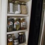 Mason Jar Spice Rack