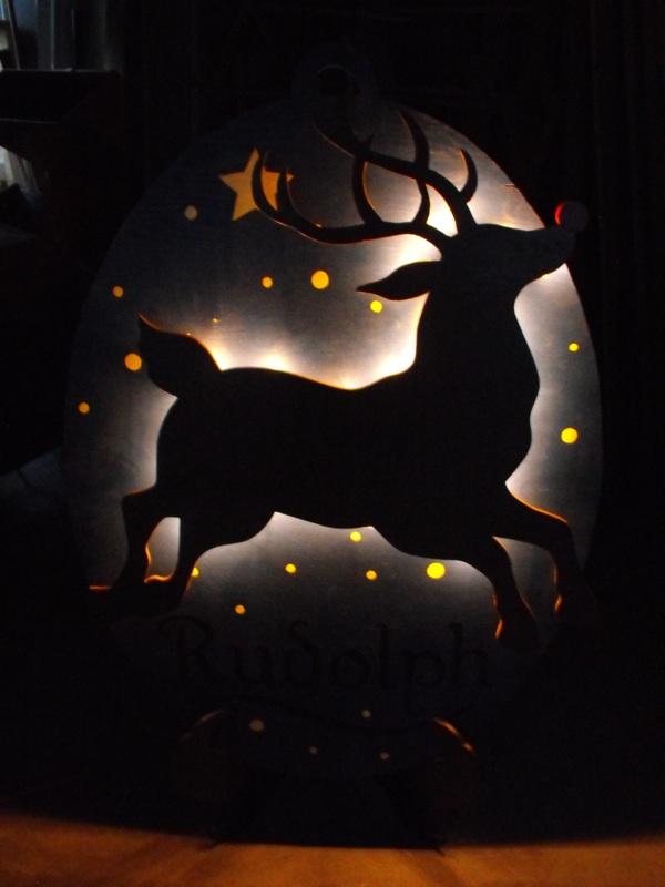 light up Rudolph Reindeer Games