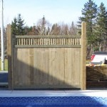 Custom fence panels.