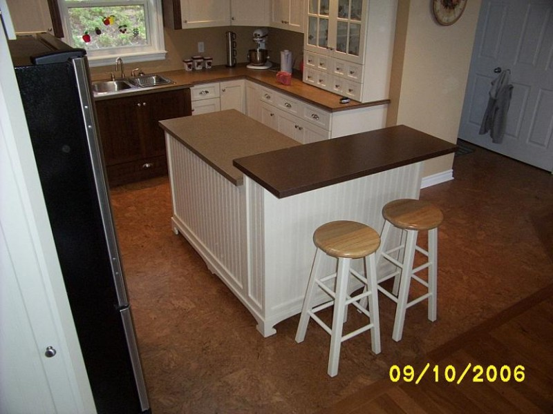 Diy kitchen island for How to build a kitchen island with seating