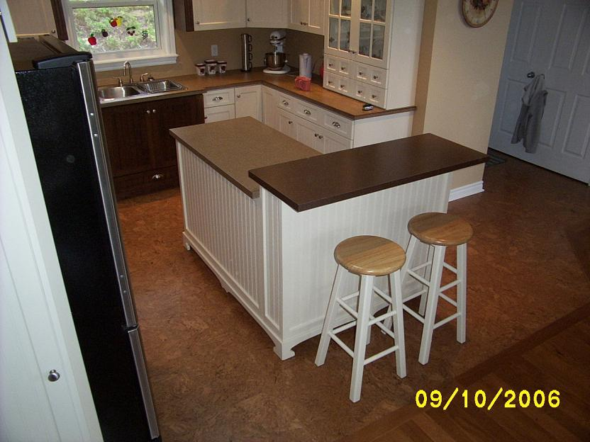 Diy kitchen island kitchen island installed solutioingenieria Image collections