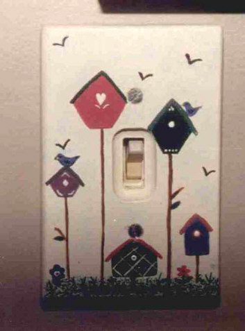 Crafters light switch plate cover.