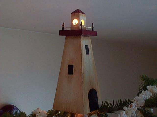 Lighthouse Christmas Tree Topper Woodchuckcanuck Com