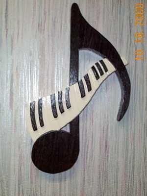 Piano Key Note