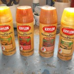 Krylon Wood Stain review.