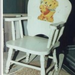 Child rocker restoration.