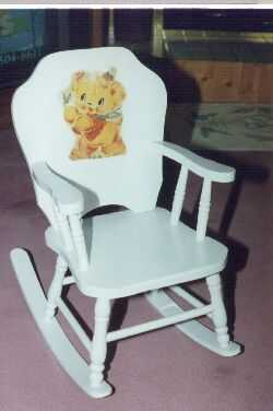 Child rocker restored.