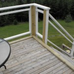 Sunroom deck construction 1