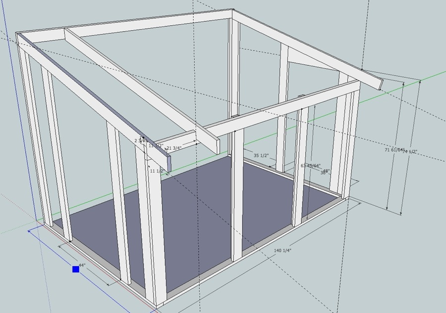 Sunroom Design Using Sketchup