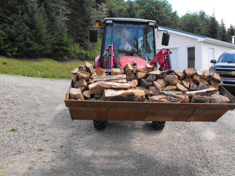 firewood processing