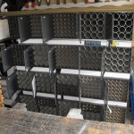 Re-purpose cabinets for workshop storage