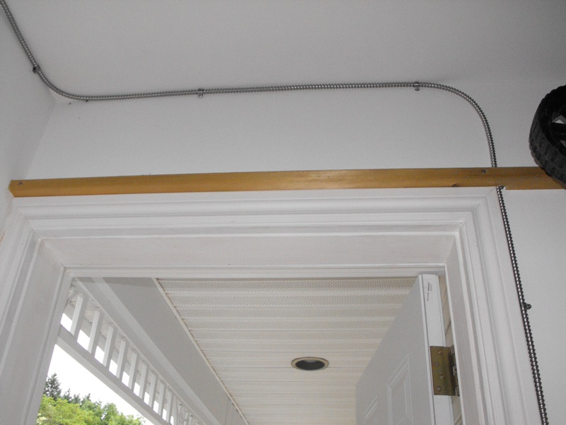 Silding screen door - channel mount