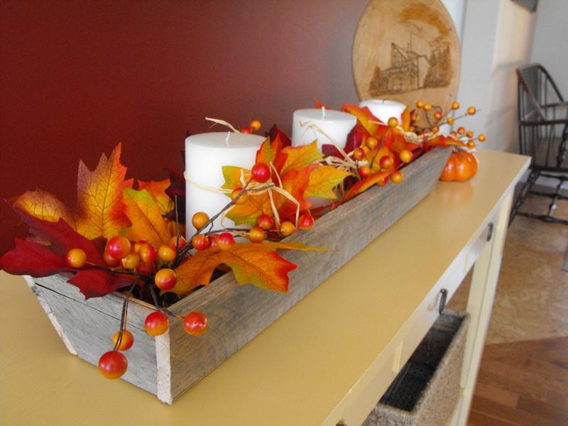 Fall season tapered trough