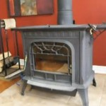 Our Harman Fireplace Wood Stove goes BOOM!