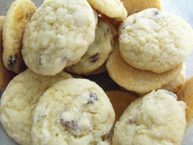 Lemon Cracks Cookies