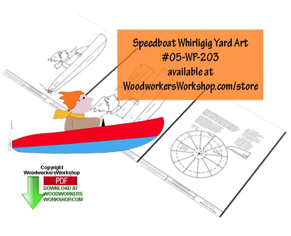 speedboats,whirligigs,whirlygigs,marine,nautical,scrap wood projects,downloadable PDF,tole painting wood crafts,scrollsawing patterns,4-H Club,4H projects,scouts,girl guides,drawings,Accents In Pine,woodworking plans,woodworkers projects,workshop blueprints