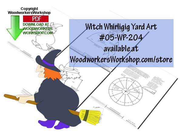 witches,whirligigs,whirlygigs,Halloween,scrap wood projects,downloadable PDF,tole painting wood crafts,scrollsawing patterns,4-H Club,4H projects,scouts,girl guides,drawings,Accents In Pine,woodworking plans,woodworkers projects,workshop blueprints