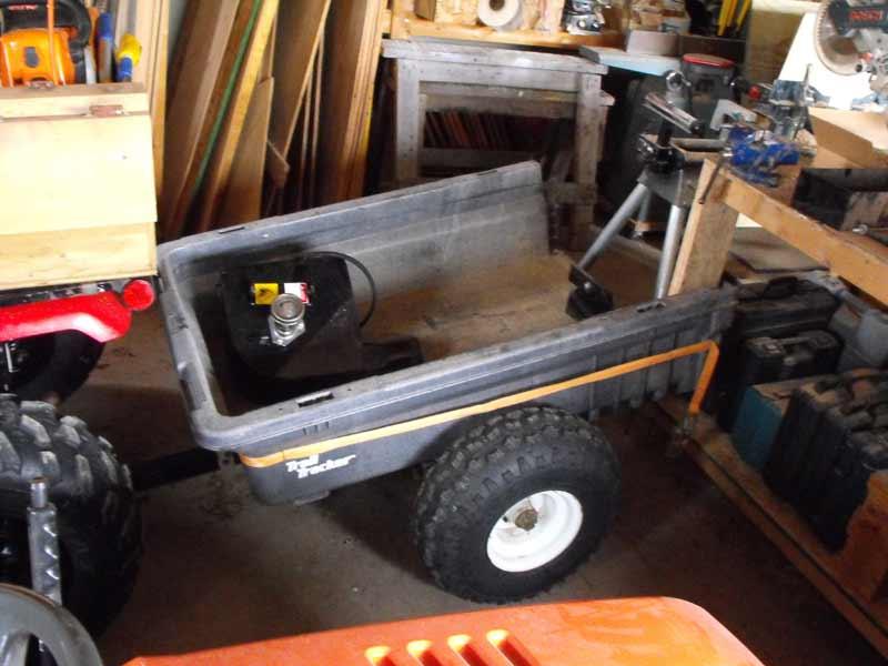 atv dump cart