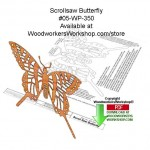 woodworking plans,scrollsaw patterns,downloadable pdf,butterflies,yellow swallowtail butterfly