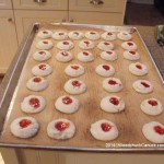 Raspberry Almond Butter Cookies,home baking,recipes