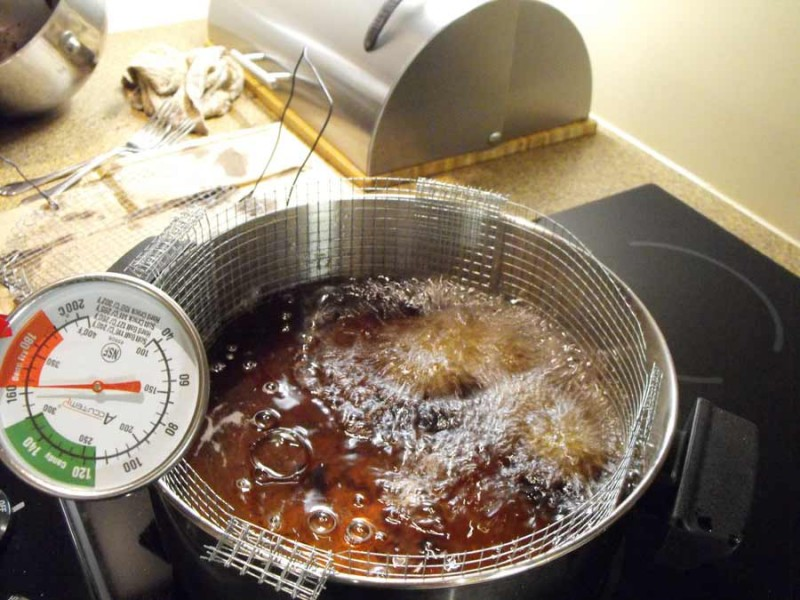 home baking,deep frying,Chocolate Cake Donut Bits